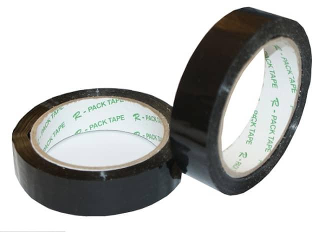 Balicí lepicí páska 24 mm x 66 m černá