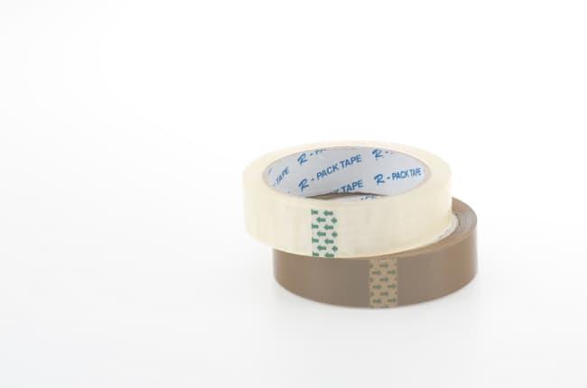 Balící lepící páska TRANSPARENT 18 x 66