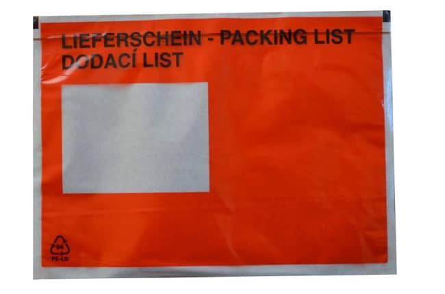 Nalepovací obálky C5 LIEFERSCHEIN -DELIVERY NOTE - DODACÍ LIST, 240 x 160 + 15mm