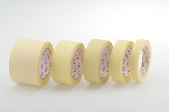 sam. pásky maskovací (krep) 25x50 , 36ks/karton