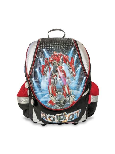 školní batoh FOR ME -černý, robot