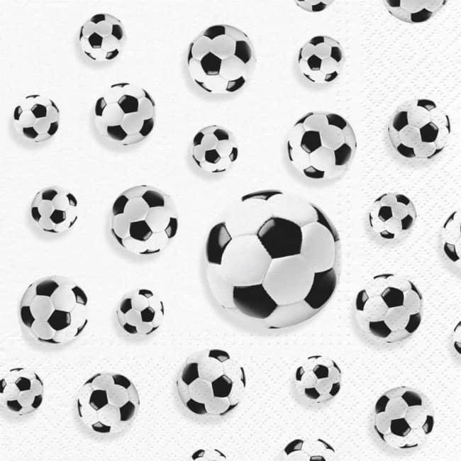 Ubrousky Fotbal,33 x 33cm,3-vrstvé,v balení 20ks