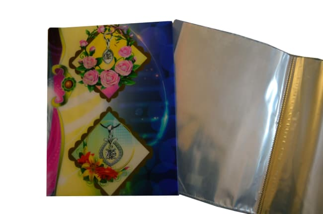 Katalogová kniha různobarevná, 40 listů, formát A4