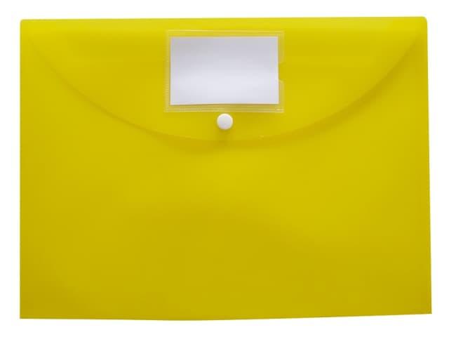 Spisové desky s drukem, B4+ (350 x 265) trojbalení 12ks(žlutá,zelená,modrá)