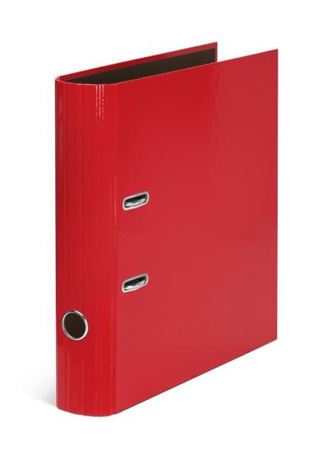 Pořadač A4 pákový 7,5 cm, lamino – CANTEIRA/červený