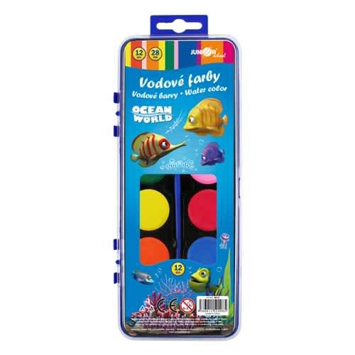 Barvy vodové TY-10812,12 barevné 28mm