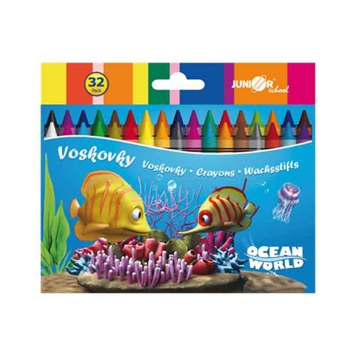 Voskovky 32 ks Ocean World
