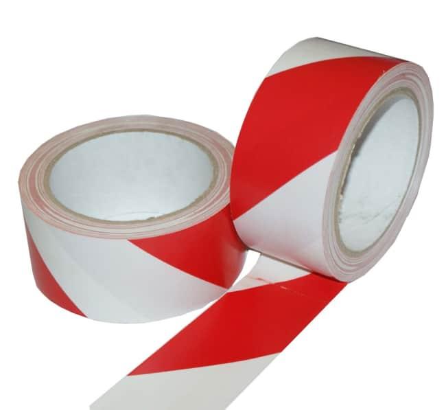 LP výstražná červeno-bílá 48 mm x 22m