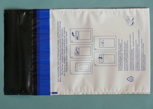 Bezpečnostní obálka s jednou bezpečnostní páskou  312 x 395 +30