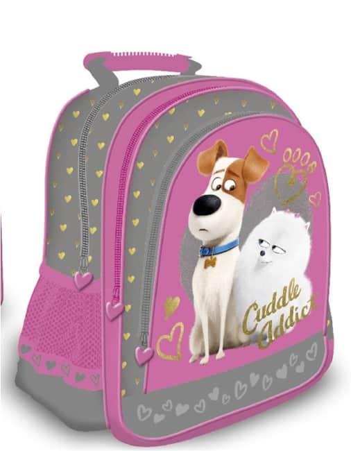 Školní batoh - Tajný život mazlíčků