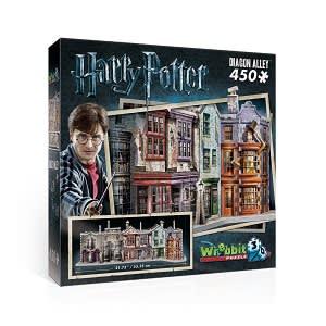 3D Puzzle - čarodějnická ulička