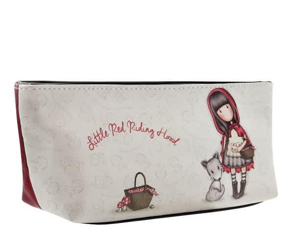 Pouzdro/kosmetická taška Santoro London - Little Red Riding Hood
