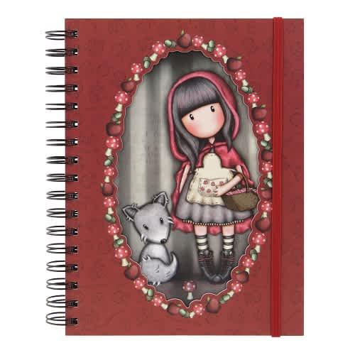 Spirálový zápisník - deník Santoro London - Little Red Riding  Hood