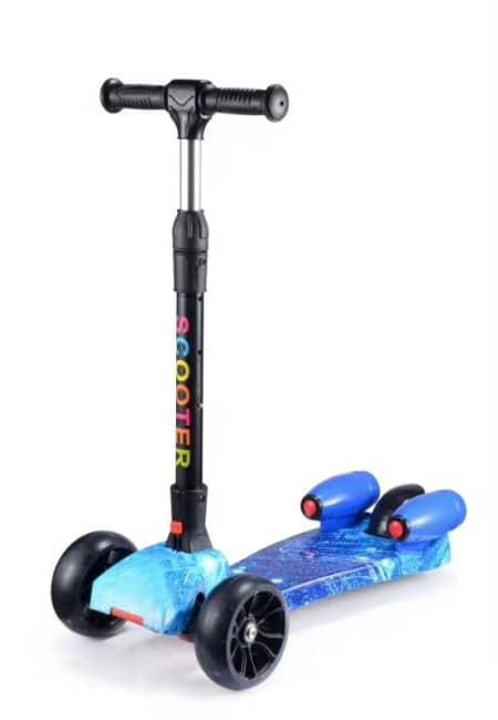 dětská koloběžka scooter, motiv Galaxy