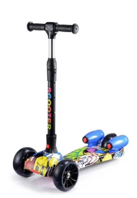 dětská koloběžka scooter, motiv Monsters