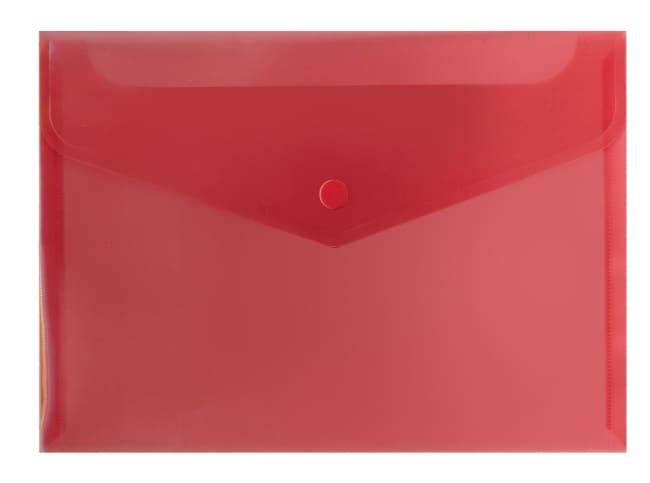 Spisové desky s drukem A5 (240 x 178),bal.po10- červená