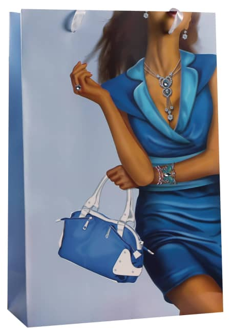 Designová dárková taška, 22,5 x 33,5 x 10cm