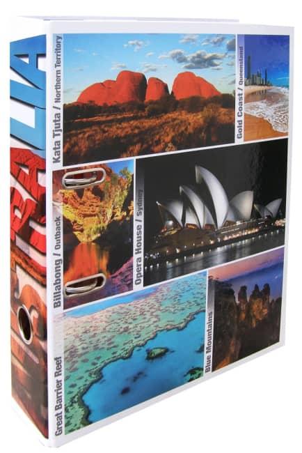 Designový pákový pořadač A4 7cm karton motiv Austrálie