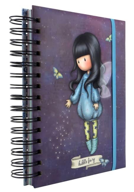 Kroužkový zápisník Santoro London - Bubble Fairy, 21 x 18 x 3 cm