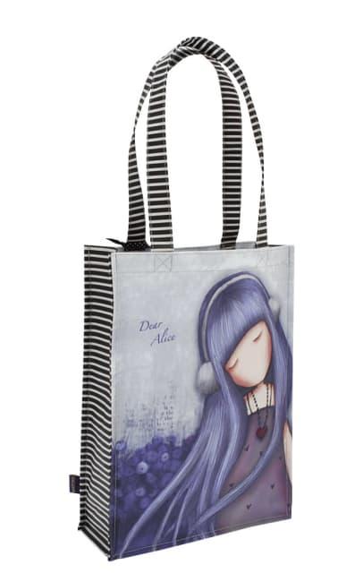 Nákupní taška Santoro London – Dear Alice, Rozměry: 25 x 35 x 9,5 cm