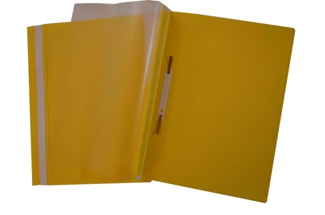 Rychlovazač plastový A4, žlutý
