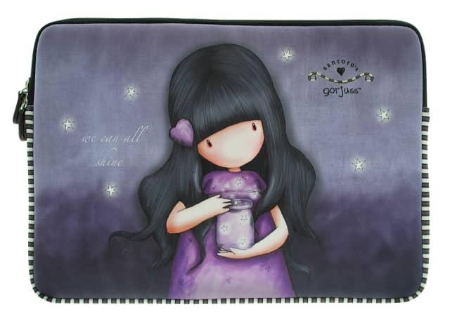 "Neoprenový obal na notebook 13"" Santoro London – We Can All Shine, 34.3 x 25.6 x 1.5cm"