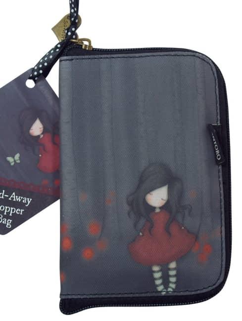 Skládací nákupní taška Santoro London – Poppy Wood