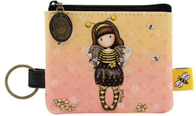Peněženka / klíčenka  Santoro London – Bee-Loved (Just Bee-Cause),1 x 11.5 x 15 cm
