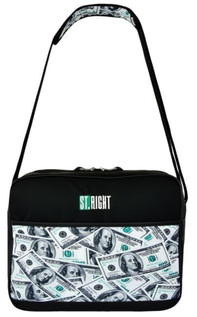 taška na rameno St.RIGHT - Dollars, 27x35x10cm