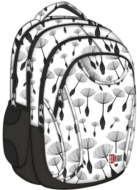 studentský batoh St.RIGHT - Dandelions,17 BP2,  4 komorový