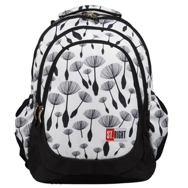 studentský batoh St.RIGHT - Dandelions,17 BP6,  4 komorový