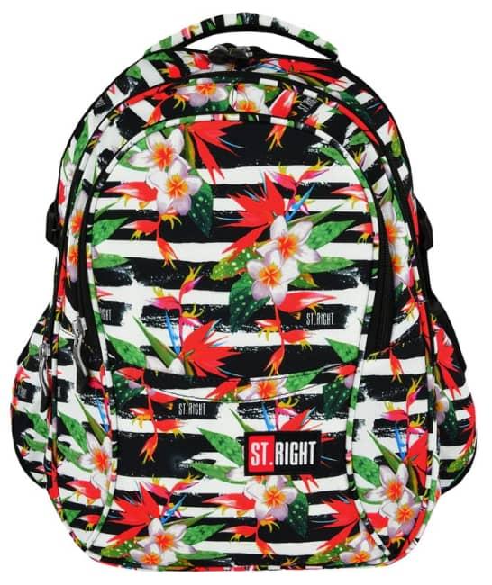 studentský batoh St.RIGHT - Tropical Stripes