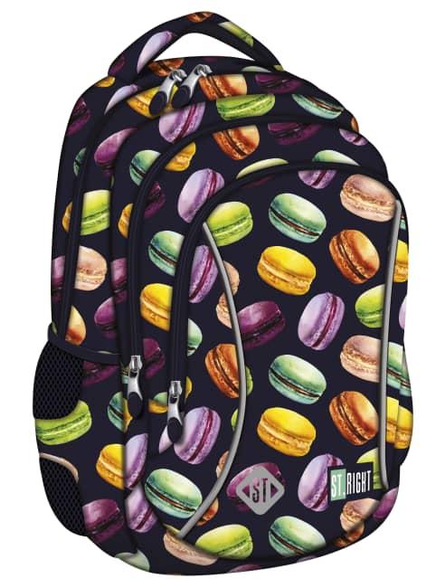 studentský batoh St.RIGHT - Macarons, 3 komorový, BP26
