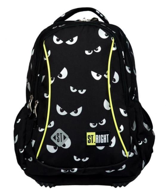 studentský batoh St.RIGHT - Glowing eyes, 3 komorový, BP26