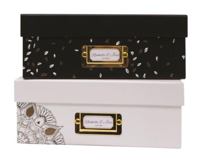 Úložná krabice, 315x245x100mm, bílá