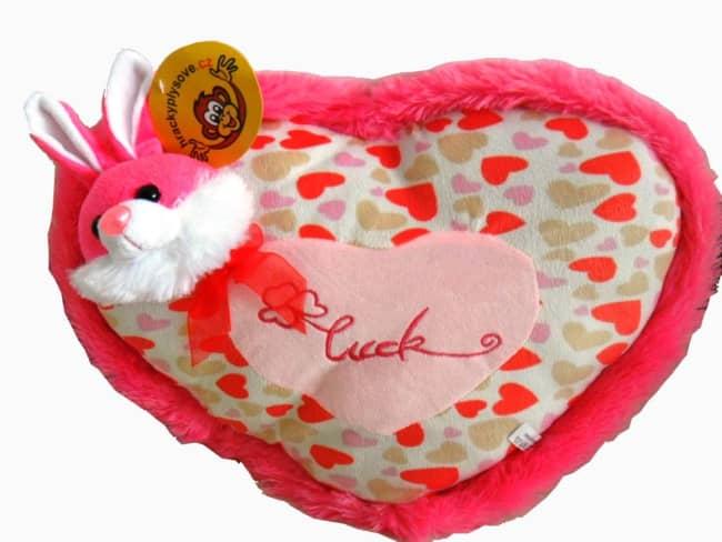 Srdíčko růžové s králíčkem