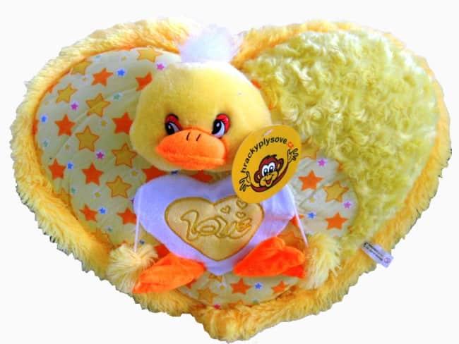 Srdíčko žluté s kačenkou