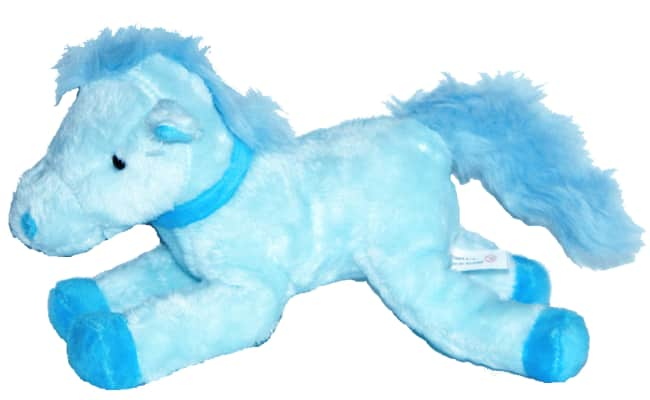 Kůň modrý, vel. 22 cm