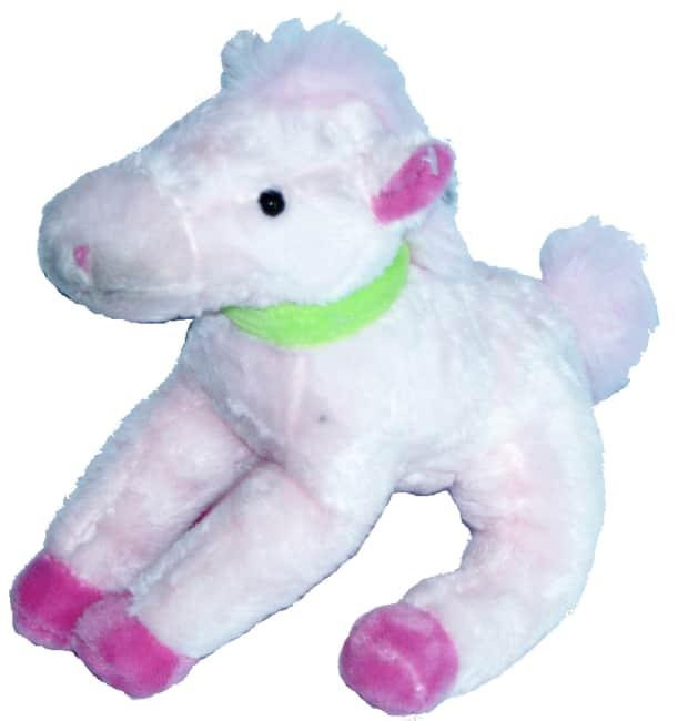 Kůň růžový, vel. 35 cm