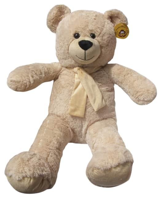 plyšový medvěd 90 cm béžový