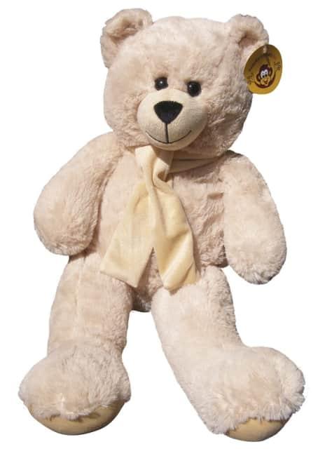 plyšový medvěd 60 cm béžový