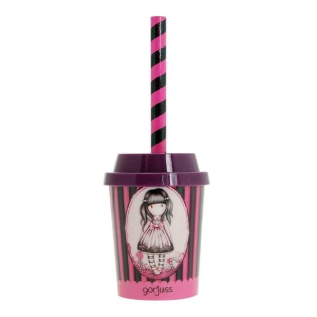 Ořezávátko Santoro London ve tvaru Milkshake s tužkou, Sugar and Spice