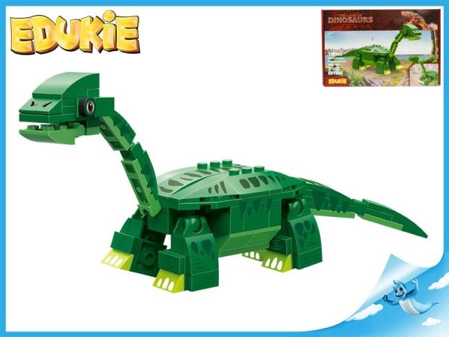 EDUKIE stavebnice dinosaurus 110ks