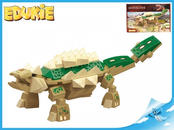 Stavebnice EDUKIE dinosaurus 134ks