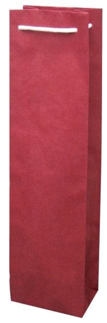 taška na víno, papír, barva vínová 1FBBB005001