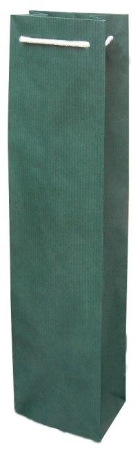 taška na víno, papír, barva zelená, 1FBBB004001