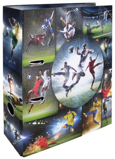 Designový pákový pořadač A4 7cm karton motiv Fotbal