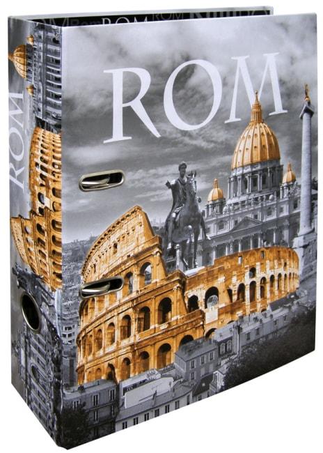 Designový pákový pořadač A4 7cm karton motiv Řím