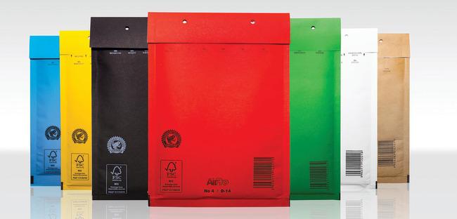 bublinková obálka červená 4D 200x275mm (180x265)