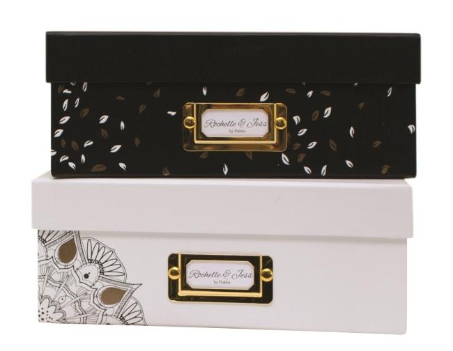 Úložná krabice, 315x245x100mm, černá